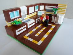 Kitchen - made by my wife Mia: A LEGO® creation by Dario Dipic : MOCpages.com
