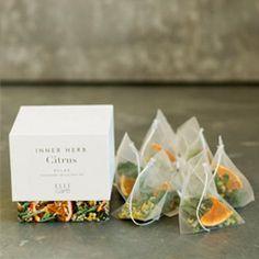 Tea Packaging, Food Packaging Design, Organic Herbal Tea, Flower Tea, Tea Art, Tea Blends, Tea Recipes, Bottle Design, Herbalism