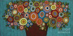 rusty-pot-of-blooms-painting-karla-gerard.jpg (900×445)