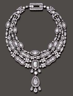 Doris Duke's  Belle Époque Necklace by  Cartier