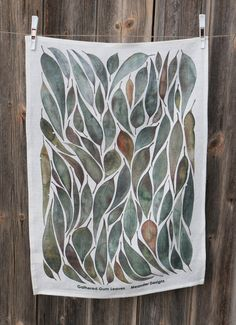 A collection of gum leaves collected on a walk around my family farm in Northern Victoria inspired this watercolour artwork.The perfect gift to send to family and friends interstate or overseas. ...