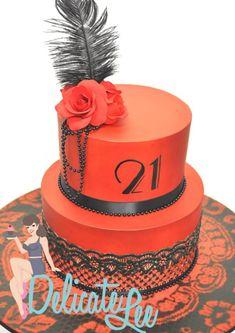 21ST BURLESQUE INSPIRED BIRTHDAY