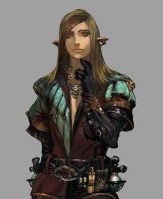 Elf Race from Stranger of Sword City