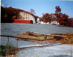 after closing, before the fires. Mountain Park, Amusement Parks, Abandoned Places, Massachusetts, In The Heights, Gate, Spaces, The Originals, Vintage