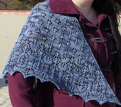 Comber shawl : Knitty.com - Winter 2014