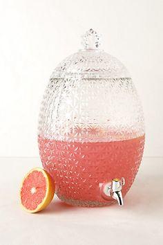 Pineapple Beverage Dispenser, $68 | Anthropologie