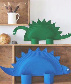 10 DIY Dinosaur Craft Activities for Kids Kids Crafts, Craft Activities For Kids, Toddler Crafts, Preschool Crafts, Projects For Kids, Diy For Kids, Easy Crafts, Arts And Crafts, Dinosaur Crafts Kids