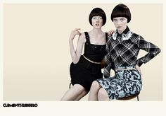 Clements Ribeiro Spring Summer 2013 Campaign | FashionMention