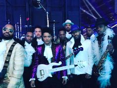 Bruno at Grammys 2017 Prince tribute!