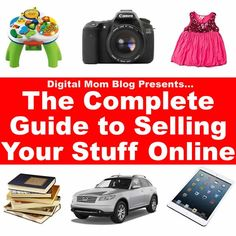 PURGE! Find out where's the best place to sell what (with helpful seling tips) online!