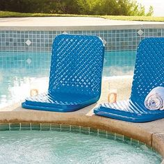 Having a pool sounds awesome especially if you are working with the best backyard pool landscaping ideas there is. How you design a proper backyard with a pool matters. Mini Pool, Pool Storage, Backyard Storage, Backyard Pool Landscaping, Landscaping Ideas, Courtyard Pool, Pool Chemicals, Pool Furniture, Furniture Chairs