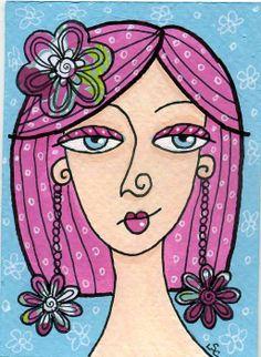 dots 'n' doodles: 29 Faces Art Challenge # 1