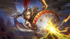 Freya Gladiator by makinig Fantasy Dream Team, Fantasy Girl, Hero Wallpapers Hd, Character Concept, Character Design, Dark Rose, Alucard Mobile Legends, Dragon Hunters, Moba Legends