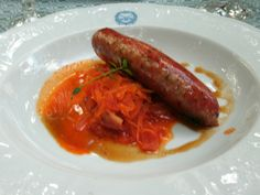 Bratwurst - german food