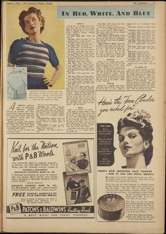 Issue: 3 Aug 1940 - The Australian Women's Week...