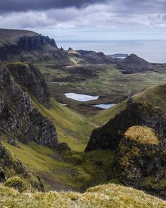 View over Druim an Ruma to the Quiraing, Isle of Skye, Scotland by BJE Landscape Photography
