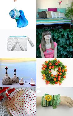 Summer Time by Laura P. on Etsy--Pinned with TreasuryPin.com