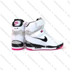Crystal Nike Air Revolution Sky Hi In White, Black & Pink http://www.craftyjewels.co.uk/crystal-nike-air-revolution-sky-hi-white-black--pink-7178-p.asp
