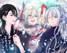 Rei, Eichi, & Wataru | Ensemble Stars!