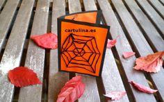 http://cartulina.es/invitacion-para-fiesta-de-halloween/ Invitación para Halloween hecha a mano