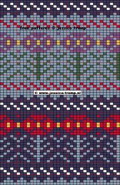 Жаккардовые схемы от Джессики Тромп. Обсуждение на LiveInternet - Российский Сервис Онлайн-Дневников
