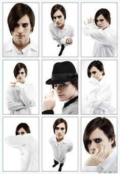 Jared Leto from 30 Seconds to Mars