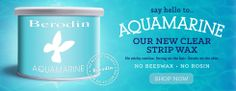 Love this stuff!  Watch her video on Eva's Aesthetics about this! Aquamarine Clear Strip Wax