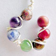 Chakra Jewelry, Gems Jewelry, Diy Jewelry, Gemstone Jewelry, Beaded Jewelry, Jewlery, Handmade Jewelry, 7 Chakras, Meditation Stones