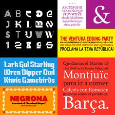 En lo más fffres.co: 20 fuentes gratuitas de tipógrafos iberoamericanos: A pesar de que la escena tipográfica iberoamericana está todavía…