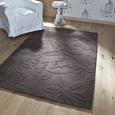 Tapis marron VEGETAL - Saint Maclou