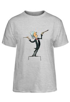 Mallette String Quartet classical music conductor t-shirt. Great gift for music lovers.