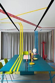 Casinha colorida: Decoração retrô moderna: revivendo as décadas de 50 a 80