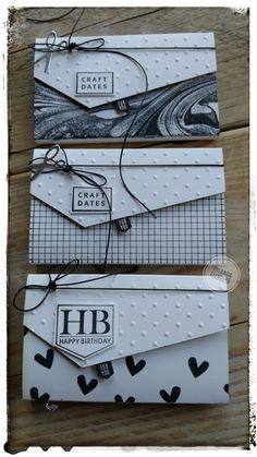 Kleine giftcard envelop doosjes