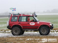#LandRover Discovery, prepared for Iceland
