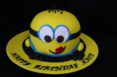 Minion Birthday Cake by Sugar Cascades, Perth, Western Australia. You'll find this Cake Appreciation Society Member in our Directory at www.cakeappreciationsociety.com