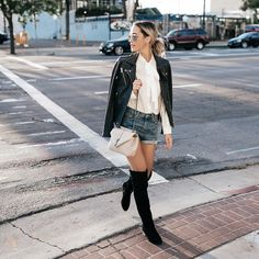 If there's one boot you invest in for the cold season, make it a pair of over-the-knee boots.