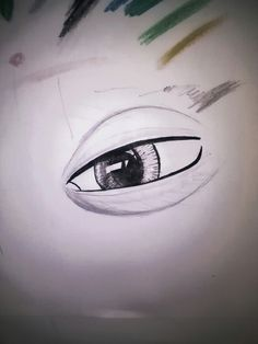 i try to drawing realistic eye,but...