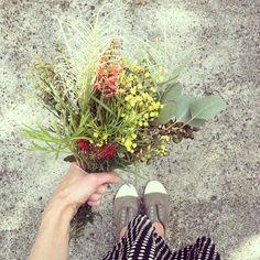 Australian autumn bouquet