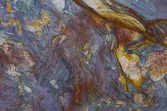 Blue Luisa granite...except it's actually marble.   So, not my kitchen solution.   But....so pretty!