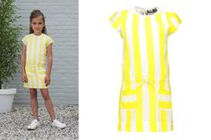 #LikeFlo Dress! #Stripes #Kids #Fashion #Girls Like Flo, Short Sleeve Dresses, Dresses With Sleeves, Kids Fashion, Inspiration, Design, Style, Fashion Styles, Biblical Inspiration