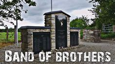 Band of Brothers Memorial at Brécourt, Normandy Band Of Brothers, D Day, Normandy, Fields, Gun, France, Memories, Bros Band, Normandie