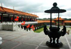 Templo Zu Lai -  Cotia - E o maior templo budista da America Latina - Sao Paulo