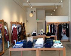 Elisa B!  A Pasadena mainstay boutique recently relocated to Holly Street which is becoming the go-to shopping street in Old Pasadena