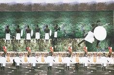 Tunji Adeniyi-Jones - Boys & Their Toys: My Militia Would Be Far Less Sassy, photo collage on plywood Plywood, Sassy, Collage, Toys, Art, Hardwood Plywood, Activity Toys, Art Background, Collages