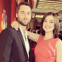 Ryan Eggold & Megan Boone; The Blacklist
