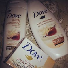 Dove prettiness in thwir shea butter range #keepaneyeonthesite #linkinbio #futurelaunch #Padgram