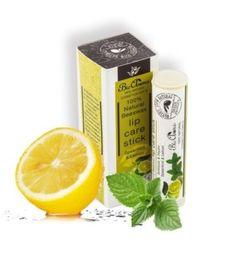 Beeswax lip care stick spearmint lemon 5ml. - Real all natural lip balm