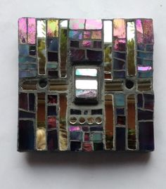 """I made this one yesterday, it's part of my """"Tangled up in Silver"""" series, it's in Tiffany glass. Purchase from: www.jillycunningham.com"""