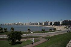 URUGUAY | Rambla de Pocitos, en el departamento de Montevideo.