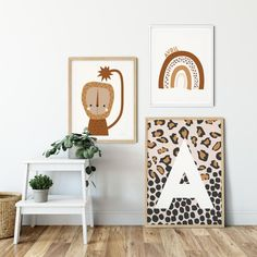 Monograms and Personalised Prints Leopard Nursery, Leopard Room, Leopard Print Baby, Leopard Wall, Baby Prints, Nursery Prints, Nursery Wall Art, Nursery Decor, Baby Posters